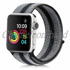 NEW colors Nylon Woven Sport Loop Watch Band Strap For Apple Watch Series4 3 2 1