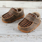 Twisted X Tan Patchwork Moccasins