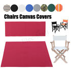 Внешний вид - 10 Colors Casual Directors Chairs Replacement Canvas Seat and Back Covers Kit