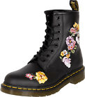 Dr. Martens 1460 VONDA II 8-EYE Embroidery Flower BOOTS Stiefel Rockabilly
