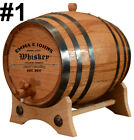 Personalized - Custom Engraved American White Oak Aging Barrel - Barrel Aged