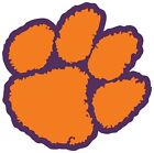 Clemson Tigers Paw Logo Vinyl Decal / Sticker 5 Sizes!!!