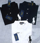 Polo Ralph Lauren Poloshirt Custom Slim Fit Big Pony Poloshirt S M L XL XXL Neu