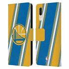 OFFICIAL NBA GOLDEN STATE WARRIORS LEATHER BOOK WALLET CASE FOR HUAWEI PHONES