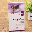 Bayer drontal plus for Dogs & Puppies (8,12,16 Tablets) Dewormer US Seller