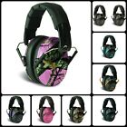 Over The Head Sound Hearing Ear Protection Noise Reduction Folding Earmuff NEW