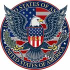 Usa Patriotic Eagle Decal 3m Sticker Us Made Vehicle Car Truck Window Wall
