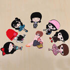 Cute Fabric Applique Cloth Mark Embroidery Sew Iron on Patch Badge Bag Clothes