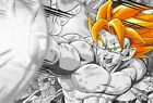 Dragon Ball Z - Goku Japanese Cartoon Wall Art Large Poster / Canvas Picture