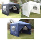 Outdoor Garden Patio Party Pop Up Gazebo Marquee Tent Canopy With 4 Side Panels