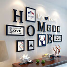 Home Christmas Wedding Love Photo Frame Wall Decoration Wooden Picture Frame Set