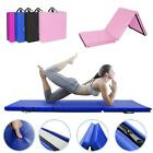 "6'x2'x2"" Folding Mat Thick Foam Fitness Exercise Gymnastics Panel Gym Workout image"