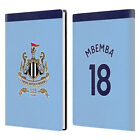 NEWCASTLE UNITED FC NUFC 2017/18 AWAY KIT 1 WHITE GREY LEATHER PASSPORT HOLDER
