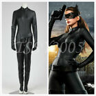 DC Batman The Dark Knight Rises Catwoman Selina Kyle Bat Man Jumpsuit Party New