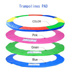 Multi Color 15 FT Trampoline Safety Pad EPE Foam Spring Cover Frame Replacement image