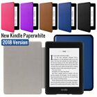 'For Amazon 2018 New Kindle Paperwhite Magnet Flip Slim Leather Smart Case Cover