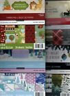 New Added Recollections 6x6 CHRISTMAS themed paper pads Super Cute Quick Ship