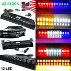 12 LED STROBE WARNING LIGHT FLASH CAR ROOF WINDSHIELD EMERGENCY BEACON LAMP $15.19 USD on eBay