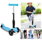 Kids Children 3 in 1 Mini Kick Scooter Push & Light Up 3 Wheels Toddlers Gifts