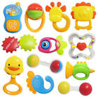 Baby Cute Cartoon Animal Teethers Rattles Training Toys For Kids Safety Teething