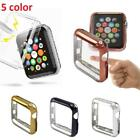 Aluminum For Apple Watch iWatch 42mm Protective Screen Face Bumper Case Cover image