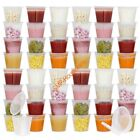20Pcs Store Homemade, Organic Purees, Baby Containers,Travel Snack Sauce Cups