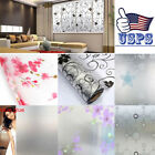 High Quality Waterproof Frosted Privacy Window Glass Cover Film Sticker two type