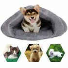 Small Pet Dog Cat Warm Soft Nest Kennel Bed Cave House Sleeping Bag Pad Mat Tent