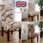 Stretch Floral Pattern Chair Covers Removable Home Slipcover Seat Chair Cover UK