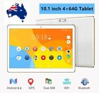 """10.1""""android 6.0 Tablet Octa Core 4+64gb Dual Sim Cards 3g Wifi Gps Bluetooth Ac"""