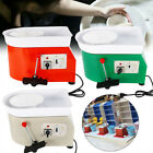 350W Electric Pottery Wheel Machine Set For Ceramic Work Clay Craft  25CM USA image