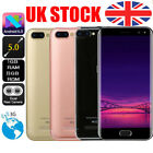 """5.7"""" Smart Cell Phone Dual Sim Android 6 3g Mobile Wifi Gps Unlocked Smartphone"""
