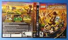 Original XBox 360 & PlayStation 3 Lego game cover art inserts (no games)