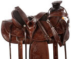Trail Saddle 16 14 15 Comfy Western A Fork Ranch Work Roping Leather Horse Tack