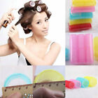 6Pcs Set Big Self Grip Hair Rollers Cling Any Size DIY Hair Curlers Beauty Tools