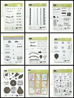 Внешний вид - Stampin' Up! Clear Mount Photopolymer Stamps Choose Set Flat Shipping Fee $3.99