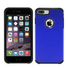 Shockproof Armor PC and TPU Smooth Cover Slim Armor Back Case for iPhone7 Plus