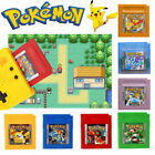 1/7 Pcs Sets Version Classic Game Card Video Games Nintendo Pokemon Gameboy Gbc