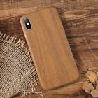 Ultrathin Wood Pattern Soft TPU Case Shockproof Cover for iPhone 7 8 X XR XS Max