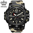 SMAEL Mens Sports Multi-function Waterproof Digital Military Quartz Wrist Watch image