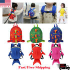 Kyпить US Toddler AntiLost Dinosaur Shark Backpack Safety Walking Harness Leash For Kid на еВаy.соm