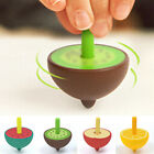 Cartoon Fruit Shape Spinning Top Leisure Wooden Toy Children Classical Gift