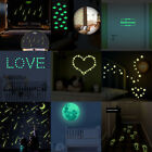 Glow In The Dark Footprint Stars Wall Stickers Luminous Decals Fluorescent Mural