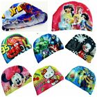 Cartoon Mickey Princess Swimming Caps Swim Hat Cute Printing for Kids Children
