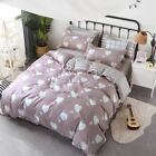 AB side bedding set heart bed linens flat sheet summer style bedclothes adult ho