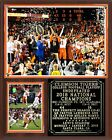 Clemson Tigers College Football Playoff 2018 National Champions Photo Plaque