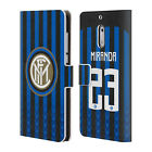 INTER MILAN 2018/19 PLAYERS HOME KIT 2 LEATHER BOOK CASE FOR MICROSOFT PHONES