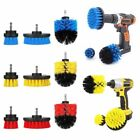 Grout Drill Power Scrubber Cleaning Brush Bathroom Floor Tile Tub Cleaner Combo