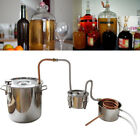 10L/18L Home Alcohol Distiller Boiler Water Copper Brewing Kit Purifying L6F2