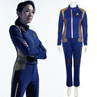 Star Trek Discovery Captain Georgiou Uniform Cosplay Costume Blue Command Suit on eBay